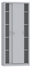 00150798 Szafa przesuwna, 4 półki (wymiary: 1950x800x400 mm)