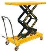00546099 Wózek paletowy stołowy (udźwig: 700 kg, min./max. wysokość podestu: 445/1500 mm)