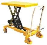 00565763 Wózek paletowy stołowy (udźwig: 1000 kg, min./max. wysokość podestu: 380/990 mm, wymiary platformy: 1016x510x55 mm)