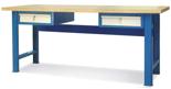 00853688 Stół warsztatowy, 2 szuflady (wymiary: 2100x900x740 mm)