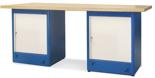00853700 Stół warsztatowy, 2 drzwi (wymiary: 2100x900x740 mm)