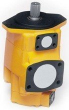 01539192 Pompa hydrauliczna łopatkowa dwustrumieniowa B&C BQ54G6038 (objętość geometryczna: 193,4+121,6 cm³, maksymalna prędkość obrotowa: 2200 min-1 /obr/min)