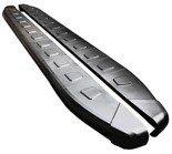 01655954 Stopnie boczne, czarne - Nissan X-Trail T30 2002-2007 (długość: 171 cm)