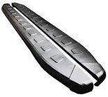 01655979 Stopnie boczne, czarne - Volvo XC60 (długość: 182 cm)