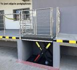 01860409 Podnośnik, podest nożycowy (udźwig: 2000 kg, wymiary: 1400x1100mm, skok: 900mm, moc: 1,1kW)
