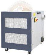 02861368 Odciąg wiór metalu, opiłków (wydajność odciągowa z workiem: 1500 m3/h, moc silnika: 1,5 / 2,1 kW)