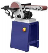 02861469 Szlifierka taśmowa pion poziom tarczowa (rozmiar taśmy: 1220x150 mm, rozmiar tarczy: 225mm, moc silnika: 550W)