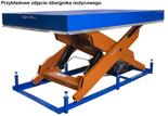 03060639 Dźwignik nożycowy przeładunkowy (udźwig: 2000 kg, wymiary platformy: 2500x2000mm, wysokość podnoszenia: 1700mm)