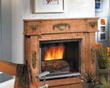 03356462 Portal marmurowy Madera Antic do wkładów żeliwnych standardowych (kolor: Rosso Verona)