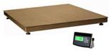 04048952 Waga platformowa ze stali szlachetnej z legalizacją (nośność: 1500 kg, podziałka: 500 g, wymiary: 800x800 mm)