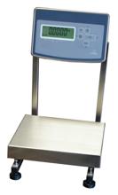 04049172 Waga stołowa ze stali szlachetnej bez legalizacji (nośność: 15 kg, podziałka: 0,5 g, wymiary: 260x300 mm)