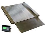 04060432 Waga najazdowa ze stali szlachetnej bez legalizacji (nośność: 750/1500kg, podziałka: 200/500g, wymiary: 1060x1250x45mm)
