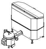 06652924 Automatyczny podajnik do spalania biomasy 2m3 230V 50kW, głowica: ceramiczna (paliwo: trociny, wióry, zrębki)
