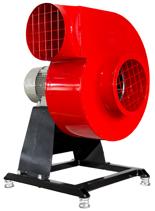 08549405 Wentylator promieniowy stacjonarny z ramą amortyzującą i z ramą amortyzującą WPA-5-E-3-N-S 400V (obroty synchroniczne: 3000 1/min, moc: 0,55 kW, wydajność wentylatora: 1900 m3/h)