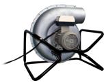 08549429 Wentylator promieniowy przenośny transportowy FAST-200-P (obroty synchroniczne: 3000 1/min, moc: 1,5 kW, wydajność wentylatora: 4000 m3/h)