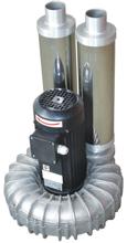 08549438 Wentylator promieniowy wysokocisnieniowy WW-4-1-7500 400V (obroty synchroniczne: 3000 1/min, moc: 7,5 kW, wydajność wentylatora: 600 m3/h)
