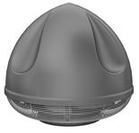 08549444 Wentylator przeciwwybuchowy dachowy SPARK-S-250/1500/Ex (obroty synchroniczne: 1500 1/min, moc: 1,1 kW, wydajność wentylatora: 3130 m3/h)