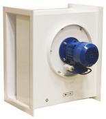 08549502 Wentylator chemoodporny kanałowy BOX-CHEM-200/1500 (obroty synchroniczne: 1500 1/min, moc: 0,18 kW, wydajność wentylatora: 1150 m3/h)