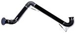 08549540 Odciąg stanowiskowy, ramię odciągowe ze ssawką z lampką halogenową i transformatorem, wersja stojąca ERGO-DL/Z-4-R (średnica: 200 mm, długość: 4 m)