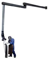 08549558 Odciąg stanowiskowy, zestaw wyciągowy ROL-TP-2,5-1,5 (średnica: 160 mm, długość: 4160 mm)