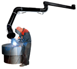 08549564 Odciąg stanowiskowy, ramię obrotowe RO-2,5-E-L/X (średnica: 160 mm, długość: 2515 mm)