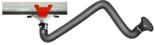 08549576 Odciąg stanowiskowy, zestaw wyciągowy: kanał odciągowy + wózek + ramię ssące ERGO-KOS (średnica ramienia odciągowego: 160 mm, długość ramienia odciągowego: 3 m, długość segmentu kanału: 2 m)