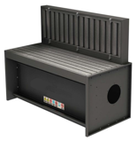 08549580 Odciągi stanowiskowy, stół z wyciągiem SLOT 2000 (wymiary stołu: 1200x750 mm)