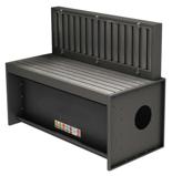 08549582 Odciągi stanowiskowy, stół z wyciągiem SLOT 4000 (wymiary stołu: 2000x750 mm)
