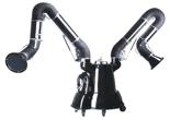 08549594 Urządzenie filtrowentylacyjne, wersja z manualną regeneracją filtra - bez ramion odciągowych MATRIX-1000-2-S (podciśnienie maksymalne: 2750 Pa, moc: 0,75 kW, wydajność: 1100 m3/h)