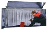 08549645 Ściana z filtrem perforowanym i kasetami filtracyjnymi FPS-1 (zalecana wydajność: 3000 m3/h)