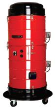 08549649 Urządzenie filtrowentylacyjne wysokiego podciśnienia z turbiną ssącą, wersja z manualną regeneracją filtra TENDER-VAC-200-S (pojemność zbiornika: 15 dm3, moc: 1,6 kW, wydajność: 225 m3/h)