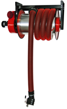 08549696 Odsysacz spalin, bęben odsysacza z napędem elektrycznym, przepustnicą, zestawem wężowym, zespołem elektrycznym - bez ssawki, wentylatora ALAN/P-U/E-12 (długość węża: 12m, średnica: 100mm)