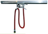 08549709 Odsysacz spalin, odsysacz przejezdny z wężem elastycznym - bez ssawki OP-AL-125-6 (długość węża: 6m, średnica: 125mm)
