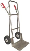 13340542 Wózek dwukołowy ręczny aluminiowy z do przewozu ciężkich przedmiotów (nośność: 200 kg)