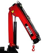 15246869 Żuraw jednoramienny Befard BF 1700B.11 (udźwig: 410-1600 kg, zasięg: 1,2- 5,1m, ilość wysuwów hydraulicznych/ręcznych: 3/1)