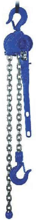 22038945 Wciągnik dźwigniowy z łańcuchem ogniwowym RZC/0.8t (wysokość podnoszenia: 8,5m, udźwig: 0,8 T)