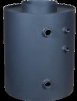 30041169 Turbodym wodny nagrzewnica pionowa do 9kW (pojemność wody: 26 L)