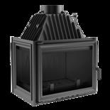 30046749 Wkład kominkowy 16kW Zuzia (lewa boczna szyba)