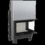 30055014 Wkład kominkowy 10kW MBM BS Gilotyna (prawa boczna szyba bez szprosa, drzwi podnoszone do góry)