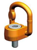 33948557 Śruba z uchem obrotowo-uchylnym PLAW 15t M42 (udźwig: 15 T, gwint: M42)