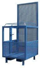 33948644 Kosz na ludzi do wózka widłowego miproFork TWK-P 1200 (udźwig: 300 kg, powierzchnia podłogi: 1200x800 mm)