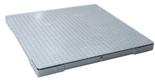 38547830 Waga platformowa z legalizacją (udźwig: 3000 kg, podziałka: 1 kg, wymiary: 1500x1500mm)