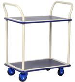 39955536 Wózek warsztatowy, 2 półki (wymiary: 740x480x1090mm)