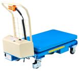 39955548 Wózek platformowy nożycowy elektryczny (wysokość podnoszenia: 445-1610 mm,wymiary: 1010x520mm, udźwig: 300 kg)