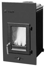 52232471 Wkład kominkowy 9kW Schmid SH 9 G (szyba prosta)