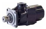 72355230 Pompa hydrauliczna tłoczkowa prosta do wywrotu - lewy i prawy kierunek obrotów (objętość geometryczna: 60 cm3/obr, zakres obr: 300-1500, maks. ciśnienie pracy ciągłej: 30 MPa)