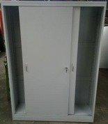77157217 Szafa narzędziowa, drzwi przesuwane, 4 półki regulowane (wymiary: 2000x1200x500 mm)
