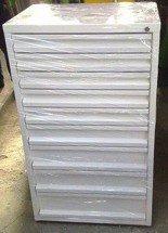 77157259 Szafa narzędziowa, 9 szuflad (wymiary: 1200x700x500 mm)