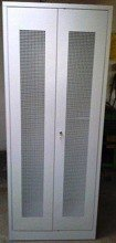 77157281 Szafa narzędziowa, drzwi perforowane, 4 regulowane półki (wymiary: 2000x800x500 mm)