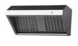 77157532 Okap przyścienny nierdzewny, gastronomiczny (wymiary: 1000x600x500 mm)